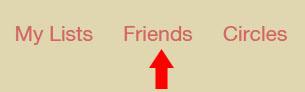 Friends-Mneu