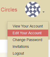 edit account