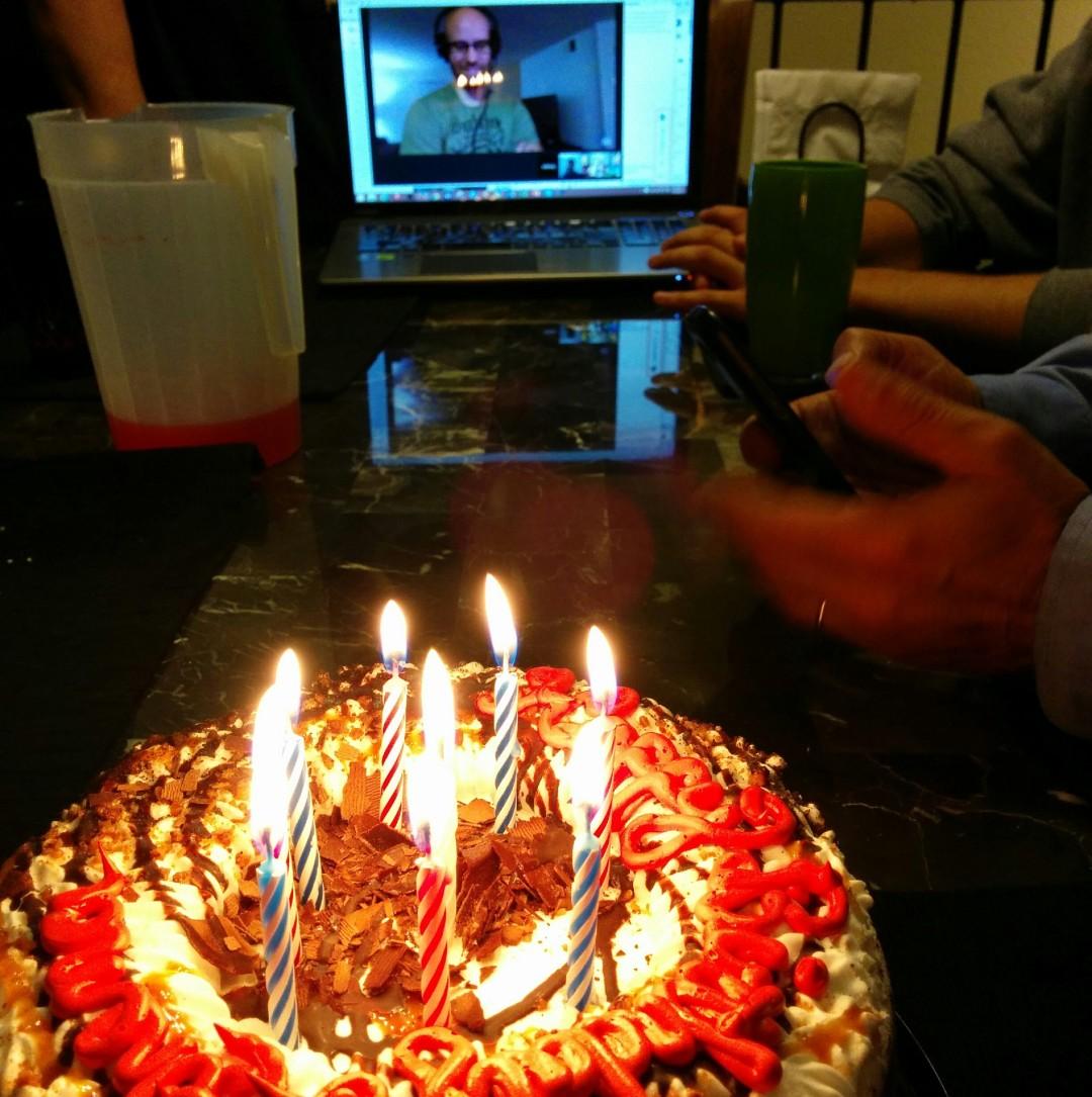 "His ""Super"" Birthday"