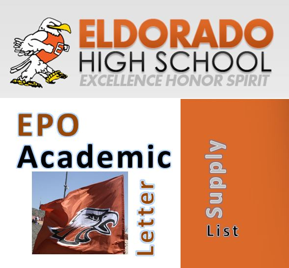 EPO Academic Letter Supply List