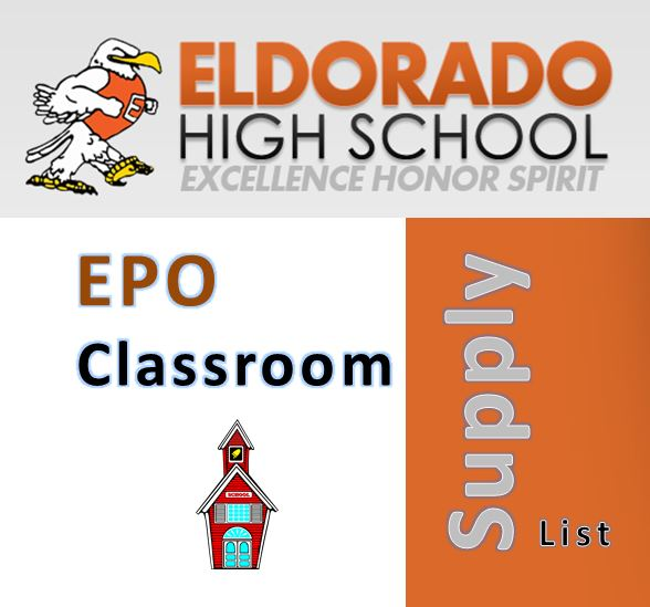 EPO / Classroom Supply List