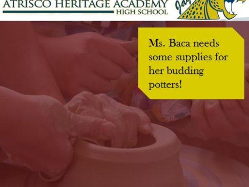 Ms. Baca's Art Class Needs