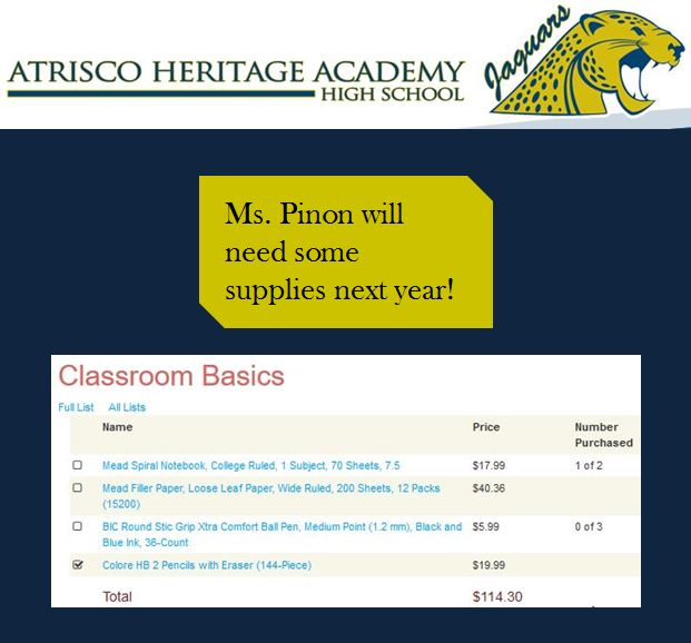 Classroom Basics – High School