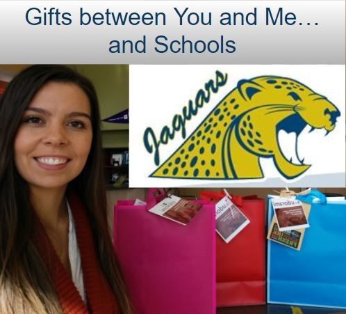 Gifts Between You and Me … and Schools!